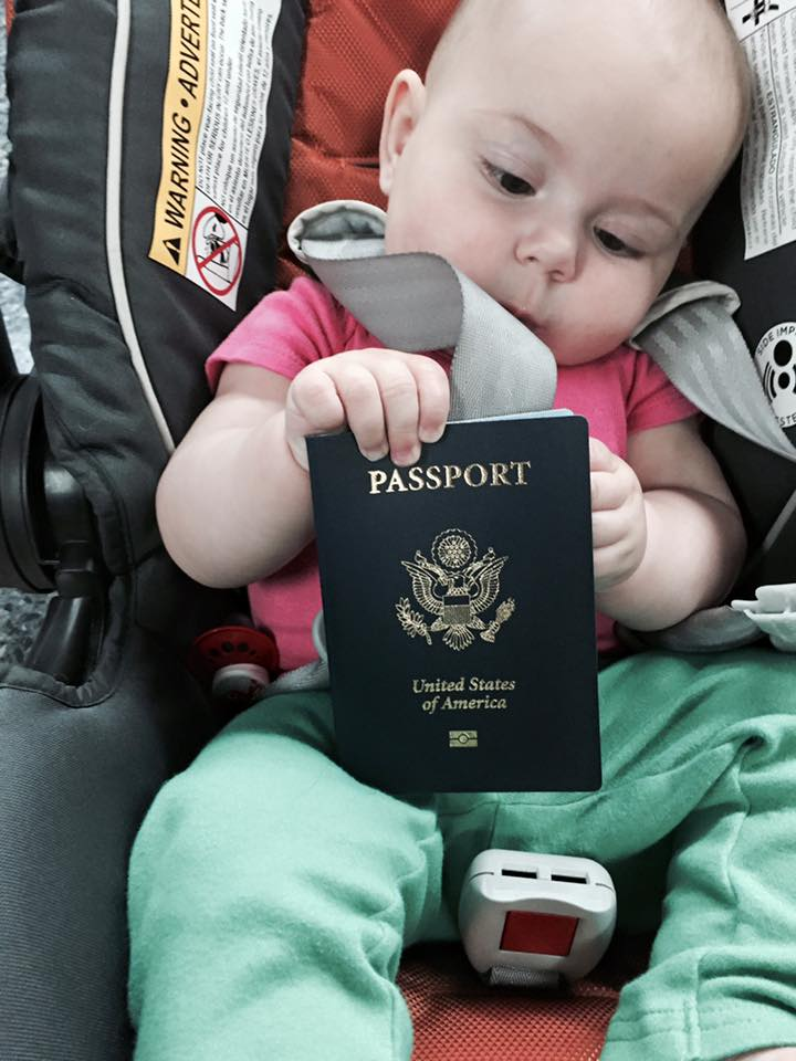Anouk and passport