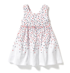 Printed Hi-Lo tank dress for baby- 9.99