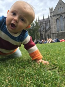 Anouk at St. Patrick's Cathedral
