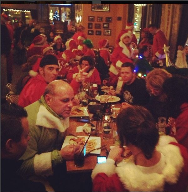 Enjoy Wisconsin on a Santa Pub Crawl